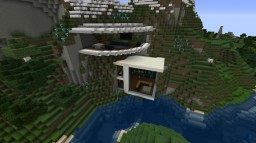 big modern house Minecraft Map & Project