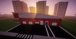 Modern Fire Station Minecraft Map & Project