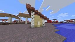 Mushroom Island House Minecraft Map & Project
