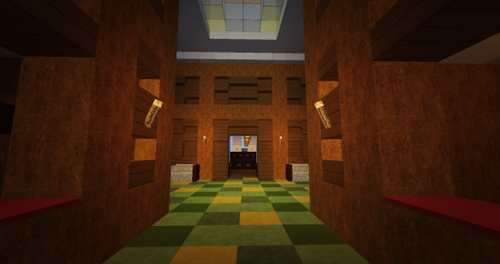 office building entrance hall