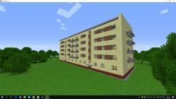 Typical residential building series 1-447/Типовой жилой дом серии 1-447 Minecraft