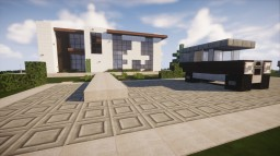 Modern House - 8 Minecraft Map & Project