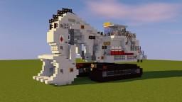 Terex Mining Excavator Minecraft Map & Project