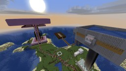 OP Survival Minecraft Map & Project