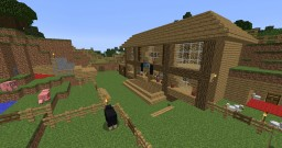 Ultra rich survival mansion Minecraft Map & Project