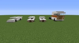 Car Pack Minecraft Map & Project
