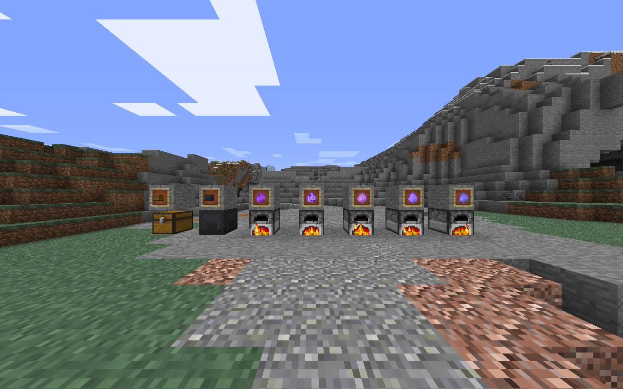 minecraft 1.14 furnace types