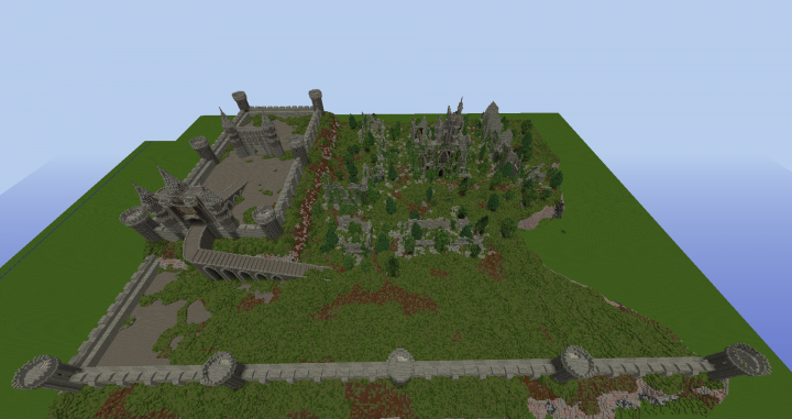 Popular Server Project : Medieval Ruins