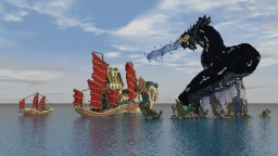 Two dragons Minecraft