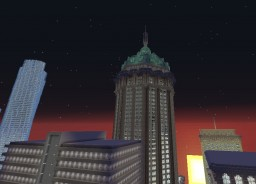 National Bank tower Minecraft Map & Project