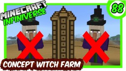 The Concept Witch Farm Bedrock Edition Minecraft Map & Project