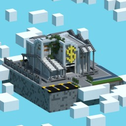 Minecraft Modern Bank Minecraft
