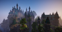 Fantasy castle Minecraft Map & Project