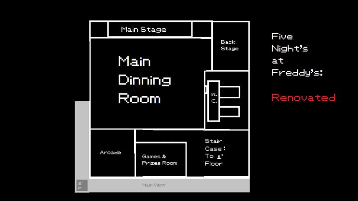 FNaF Renovated - 2 Floor
