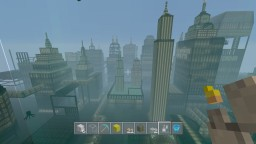 Rapture, the underwater city UPDATED Minecraft Map & Project