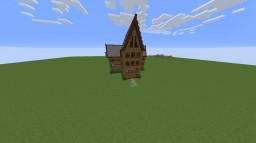 Big Old House In Between Two Villages Minecraft Map & Project