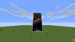 iPhone X in Minecraft Minecraft Map & Project