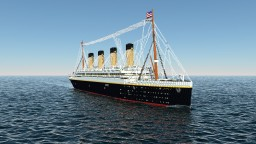 RMS OLYMPIC 1911 with Download Minecraft Map & Project