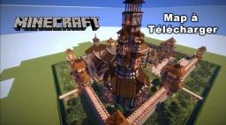 Minecraft création de spawn (8) map à télécharger Minecraft Map & Project