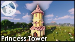 Princess Tower - with tutorial Minecraft Map & Project