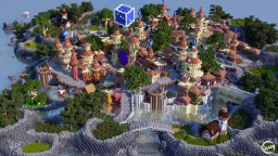 Mediterranean City Minecraft Map & Project