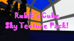 RUBIK'S CUBE Day & Night Sky Texture Pack! Very Silly! Minecraft Texture Pack