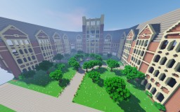 College dorm house Minecraft Map & Project