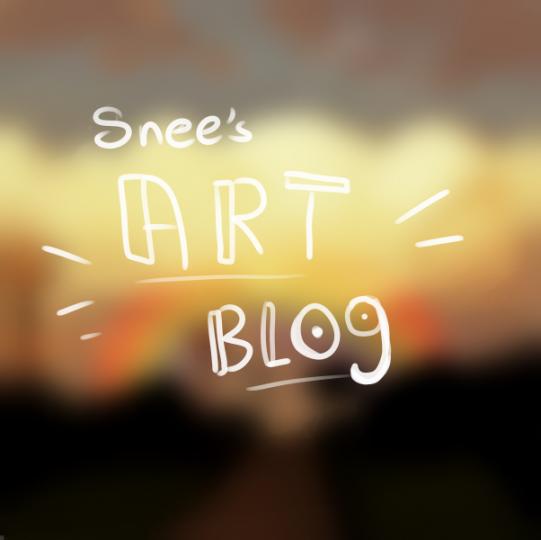 Popular Blog : Snee's Art blog