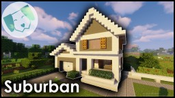 Suburban House #2 With Tutorial Minecraft Map & Project