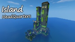 Island Headquarters Minecraft Map & Project