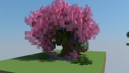 Cherry blossom treehouse Minecraft Map & Project