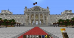 The Reichstag of the German Empire - Minecraft Parlement Minecraft