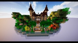 Moszna Castle Model Minecraft Map & Project