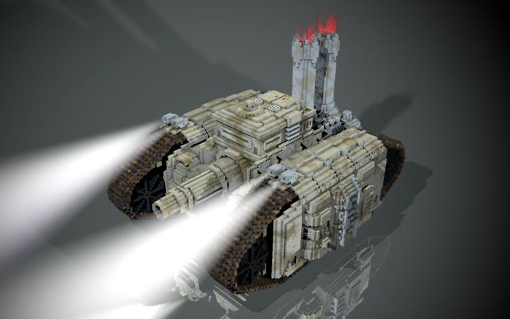 Popular Project : steampunk tank