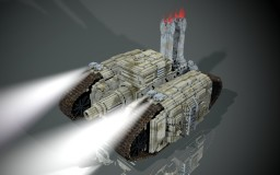 steampunk tank Minecraft