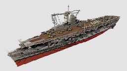 German Aircraft Carrier Graf Zeppelin 1:1 Minecraft Map & Project