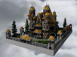 | F L A V O | Medieval/Fantasy House Minecraft Map & Project