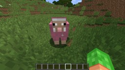 i found a pink sheep! Minecraft Blog Post