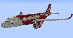 F'n'A Gaming Airbus A320neo Thai Air Asia Minecraft Map & Project