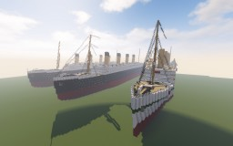 Olympic-class 1:1 Minecraft Map & Project