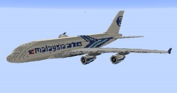 F'n'A Gaming Airbus A380-800 Malaysia Airlines Minecraft