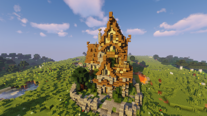Popular Project : Medieval house (medium size)