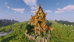 Medieval house (medium size) Minecraft Map & Project
