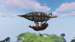 Medieval Airship Minecraft Map & Project