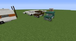 City Vehicle Pack Minecraft Map & Project