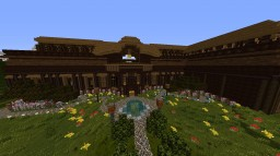 The Wooden Mansion Minecraft Map & Project