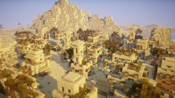 Epic Desert Village Transformation !! Minecraft Map & Project