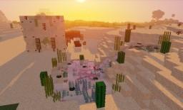 Sand Castle Build Minecraft Map & Project