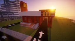 Modern Mcdonald's Minecraft Map & Project