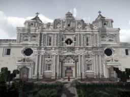 Iglesia de La Recoleccion de Santiago de Los Caballeros de Goathemala Minecraft Map & Project